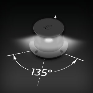 Led Navigation Lights 135° white